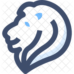 Lion Icon Of Line Style Available In Svg Png Eps Ai Icon Fonts