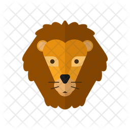 Lion Icon Of Flat Style Available In Svg Png Eps Ai Icon Fonts