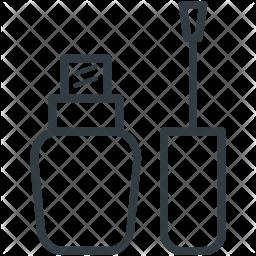 Lipgloss Line Icon