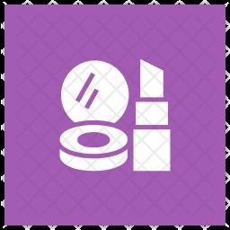 Lipstick Glyph Icon
