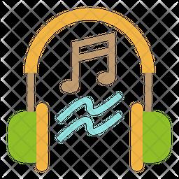 Listen Music Icon