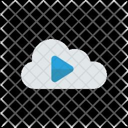 Listen on cloud Icon