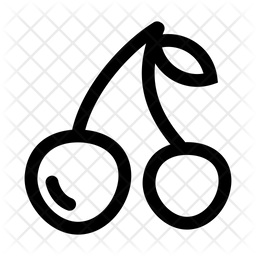 Litchi Line Icon
