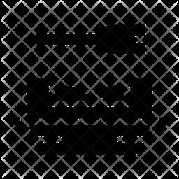 Litter Box Glyph Icon