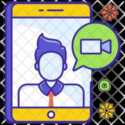 Live Call Icon