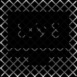 Live Match Glyph Icon
