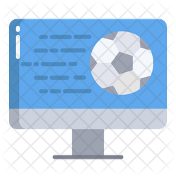 Live Match Flat Icon