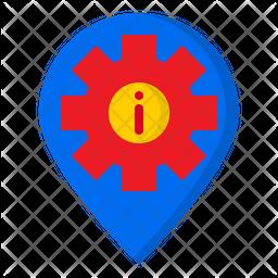 Location Information Icon