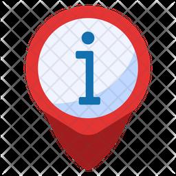 Location Information Flat Icon