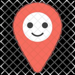 Location Pin Emoji Icon