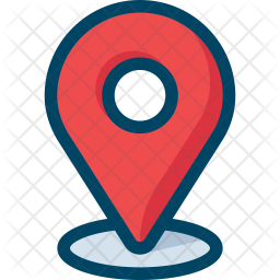 Location Pin Icon Of Colored Outline Style Available In Svg Png Eps Ai Icon Fonts