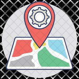 Location Settings Icon