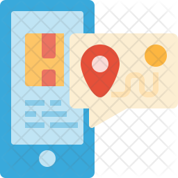 Location tracking Flat Icon