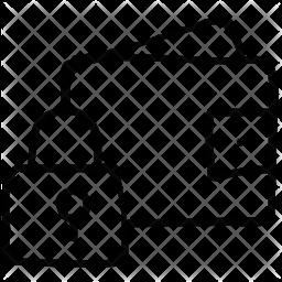 Lock Doodle Icon