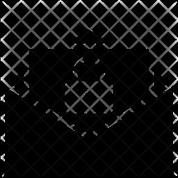 Lock Glyph Icon