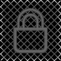 Lock Line Icon