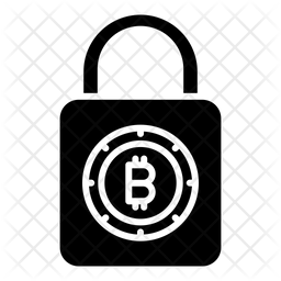 Lock Bitcoin Icon