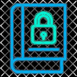 Lock Book Icon