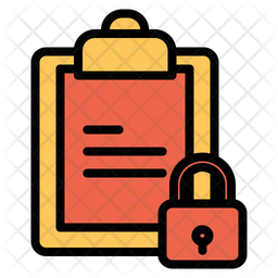 Lock Clipboard Icon