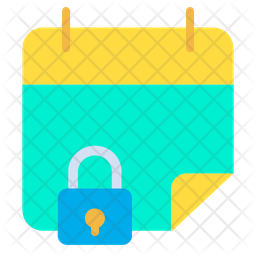 Lock Date Icon