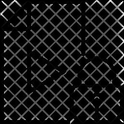 Lock dock Icon