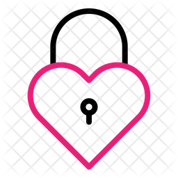 Lock Heart Icon