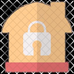 Lock Home Icon