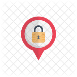 Lock Location Icon