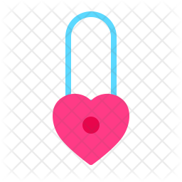 Lock Love Icon
