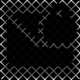 Lock-mail Glyph Icon