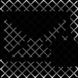 Lock Mail Glyph Icon