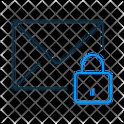 Lock Mail Dualtone Icon