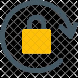 Lock Rotation Icon