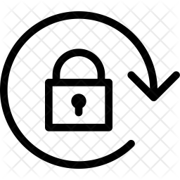 Lock screen rotation Icon