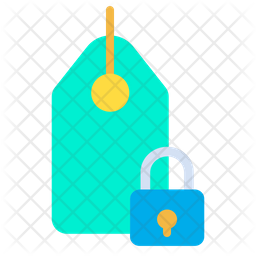 Lock Tag Icon
