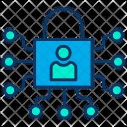 Lock user Icon