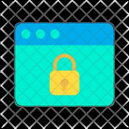 Lock Web Icon