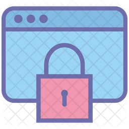 Lock Website Icon