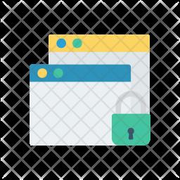 Lock Window Icon
