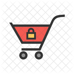 Locked Colored Outline Icon
