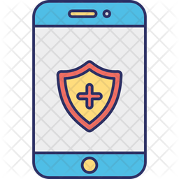 Locked Cell Phone Icon