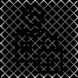 Locked data Icon