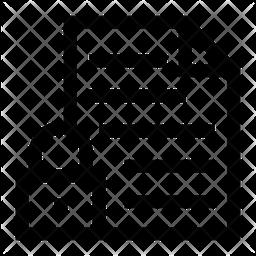 Locked File Icon