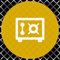 Locker Glyph Icon
