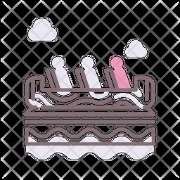 Log Flume Icon