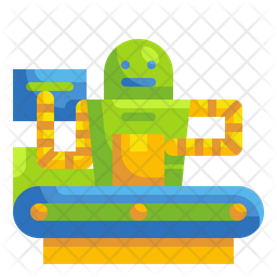 Logistic automation Icon