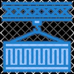 Logistic Container Dualtone Icon
