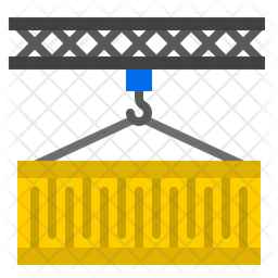 Logistic Container Flat Icon