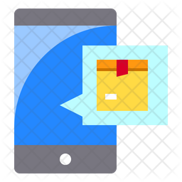 Logistics Message Icon