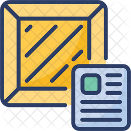 Logistics Waybill Icon